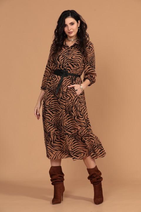 Платье Твой Имидж 1425 карамельный