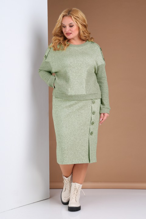 Костюм Viola Style 2669 зеленый