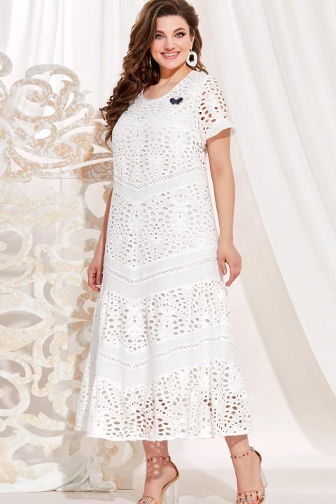 Платье Vittoria Queen 13933 белый (не кипельный)