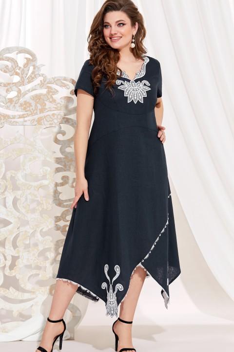 Платье Vittoria Queen 14073/1 т.синий