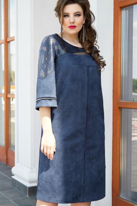 Платье Vittoria Queen 14553 темно-синий