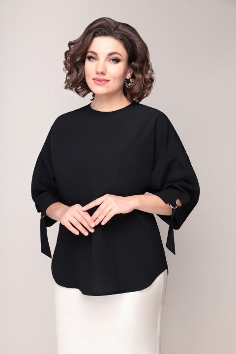 Блузка VOLNA 1216 черный