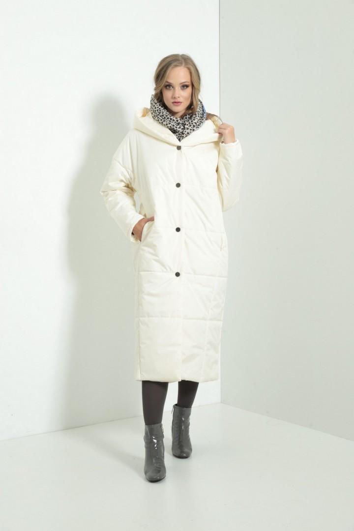 Пальто Amori 2111 молоко