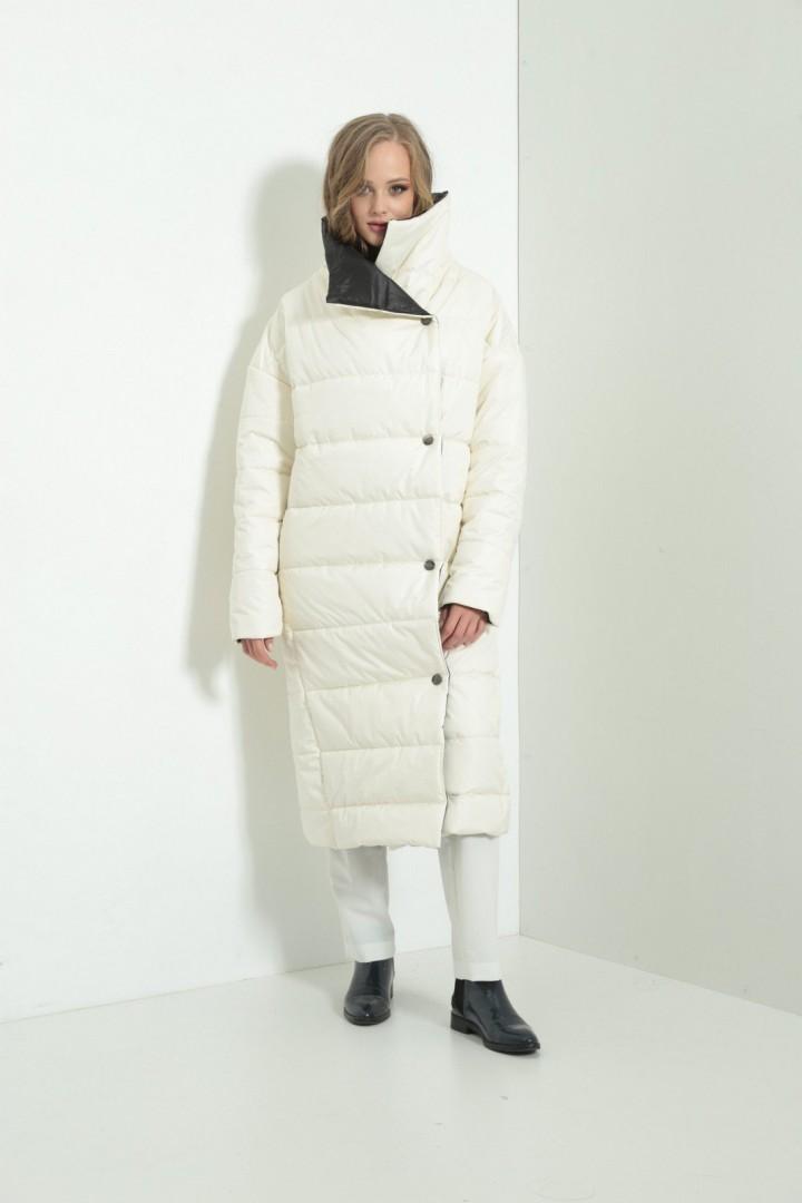 Пальто Amori 2118 молоко