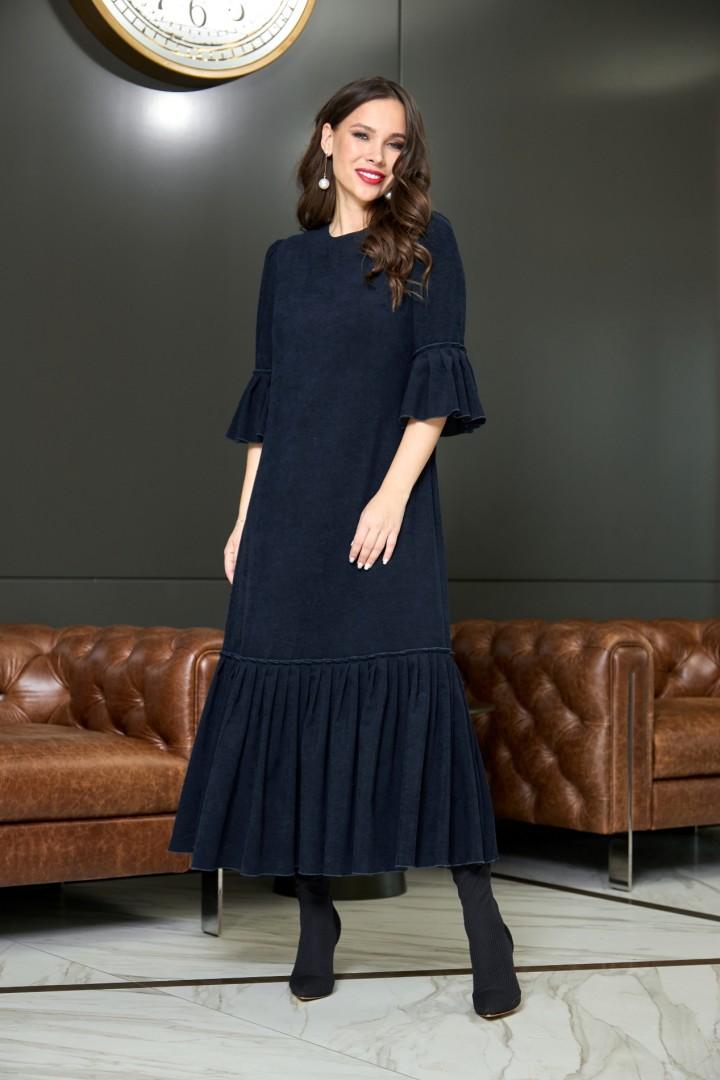 Платье AnastasiaMAK 905 темно-синий