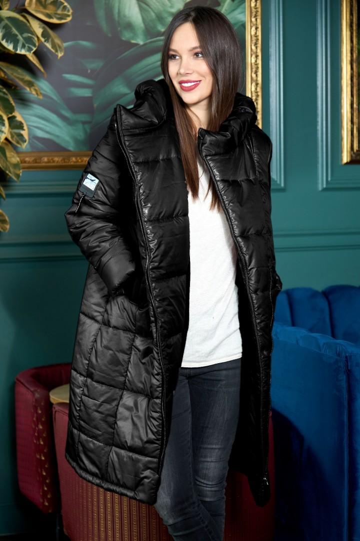 Пальто AnastasiaMAK 941 черный