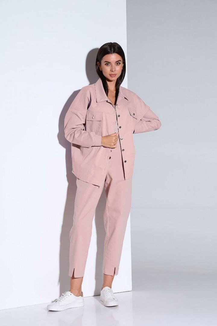 Костюм Andrea Fashion AF-158 розовый