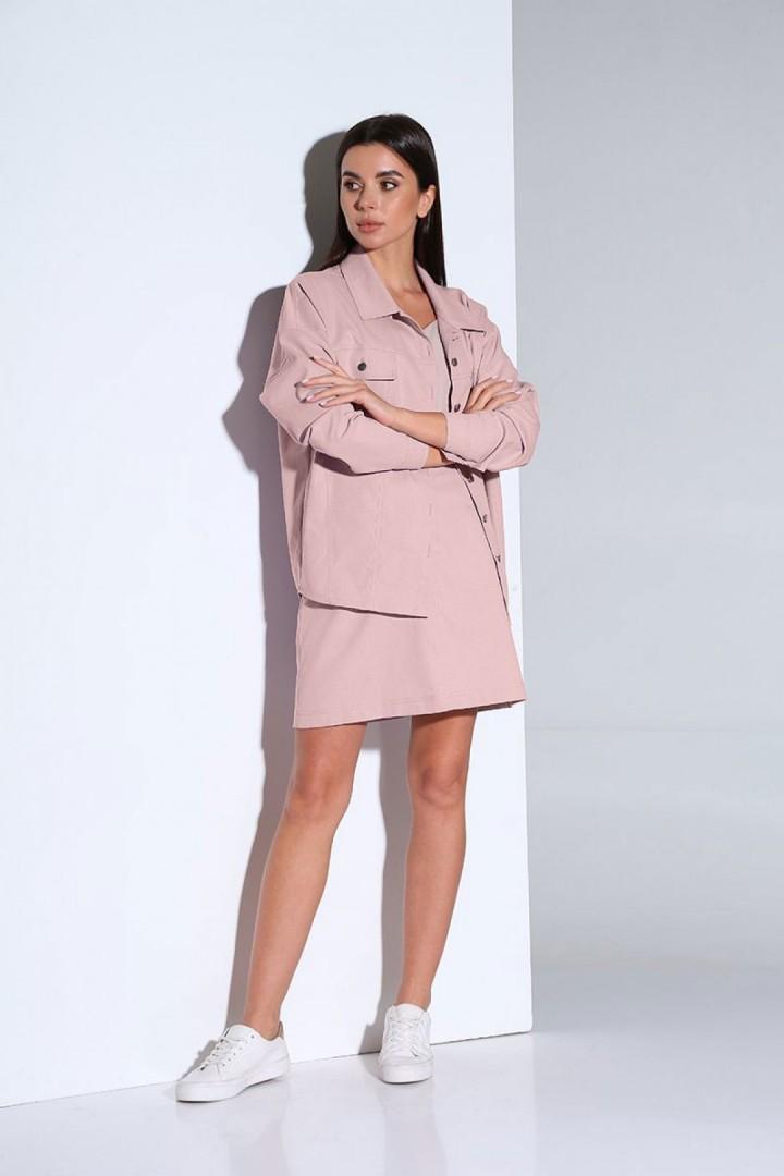 Костюм Andrea Fashion AF-159 розовый