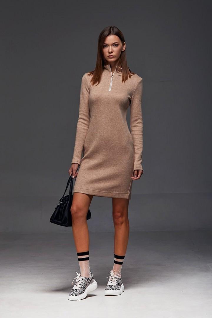Платье Andrea Fashion AF-184 беж