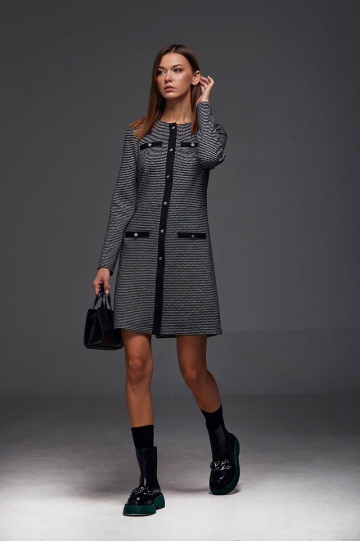 Платье Andrea Fashion AF-191 серый