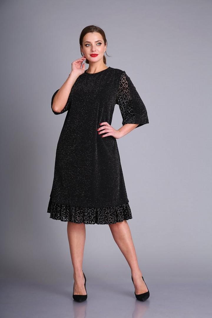 Платье AndreaStyle 0411 черный