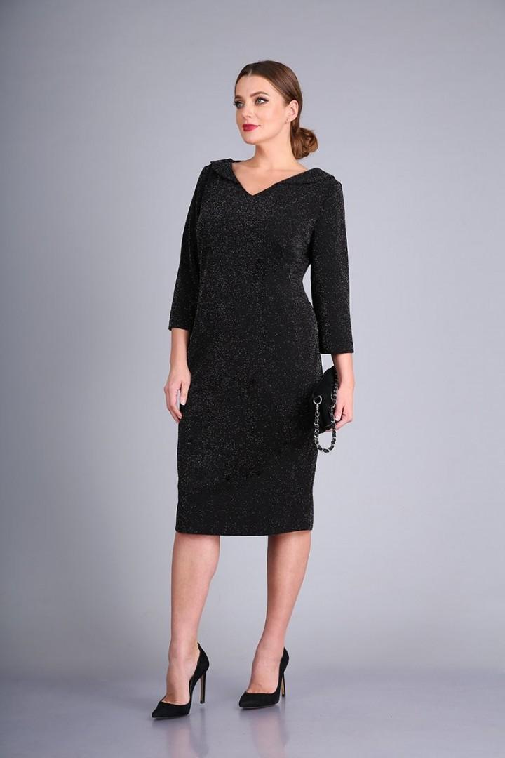 Платье AndreaStyle 0426 черный