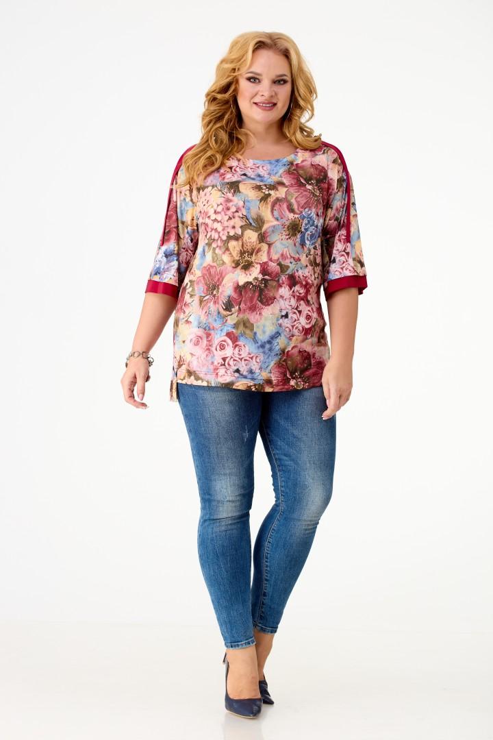 Блузка Anelli 381-розы