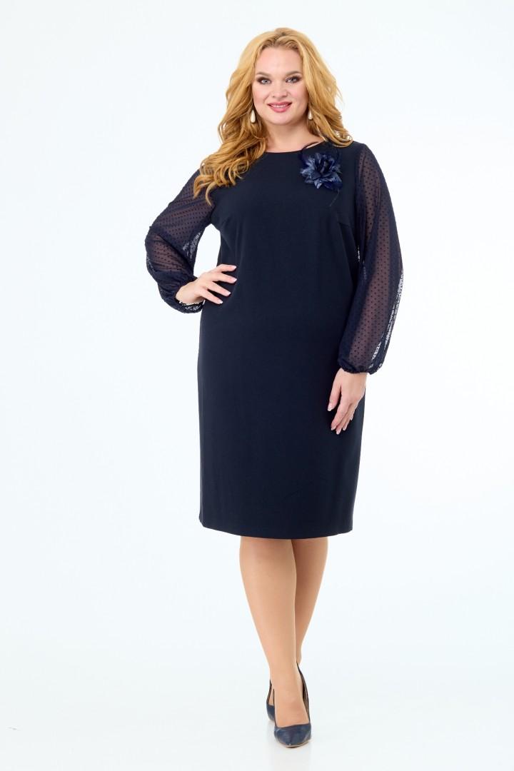 Платье Anelli 450 синий