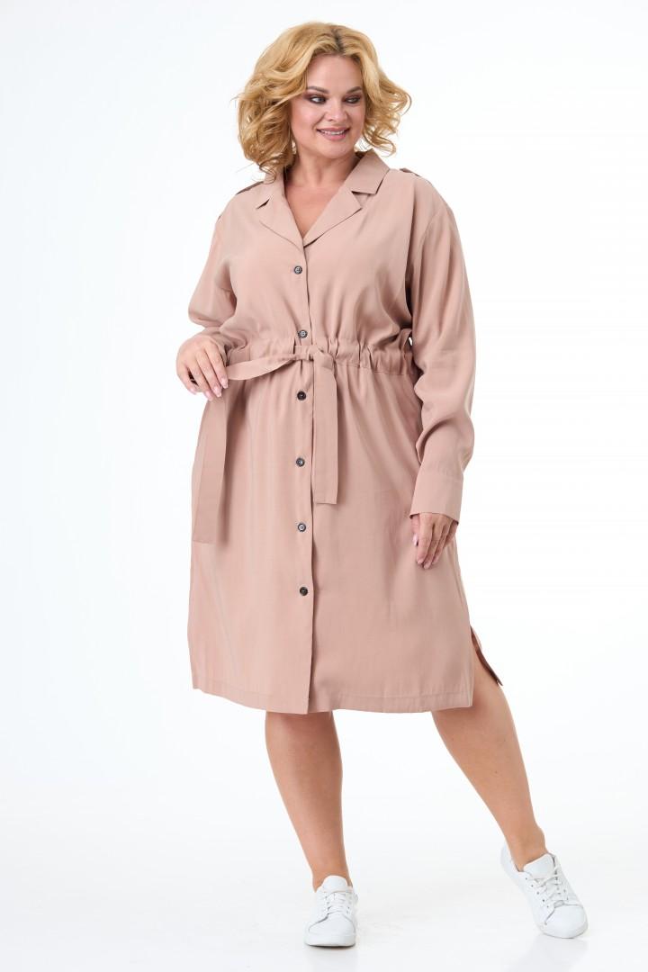 Платье Anelli 900 капучино