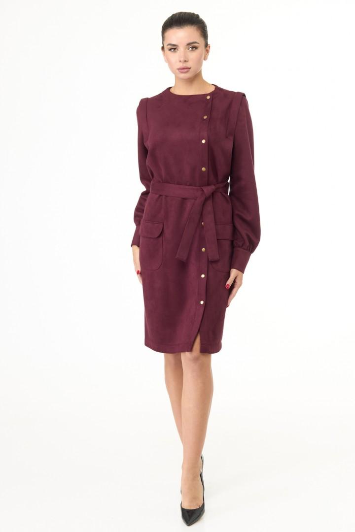 Платье Anelli 967 вишня