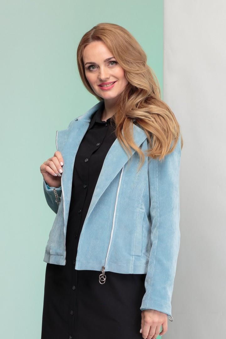 Куртка Angelina & Company 340 голубой