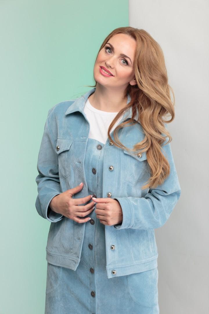 Куртка Angelina & Company 341 голубой