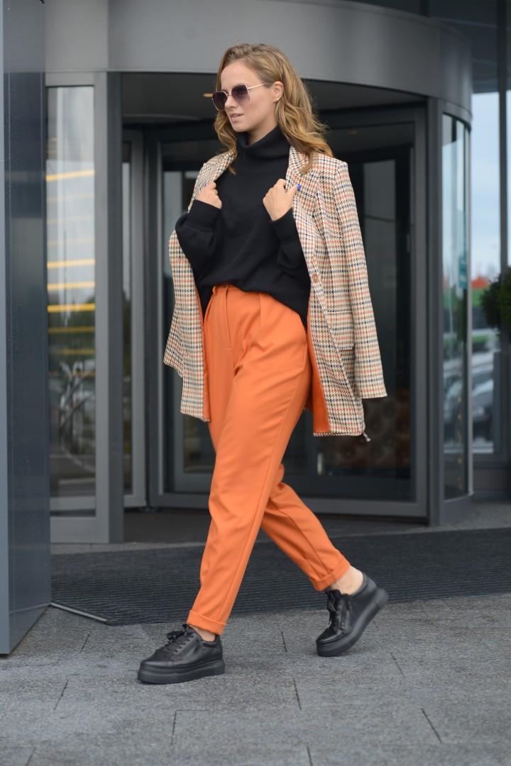 Брюки Anna Majewska 1494  оранжевый