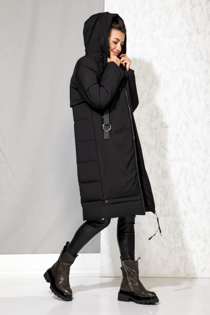 Пальто Beautiful&Free 4060 черный