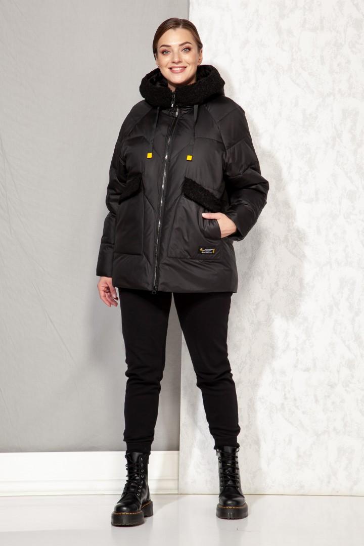 Куртка Beautiful&Free 4066 чёрный матовый