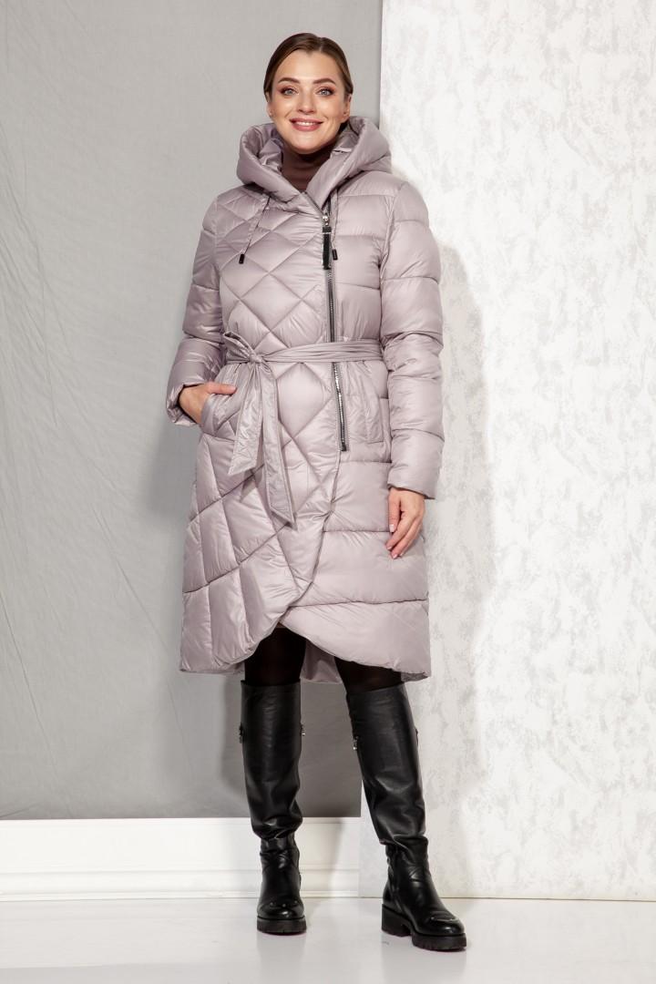 Пальто Beautiful&Free 4068 пудра