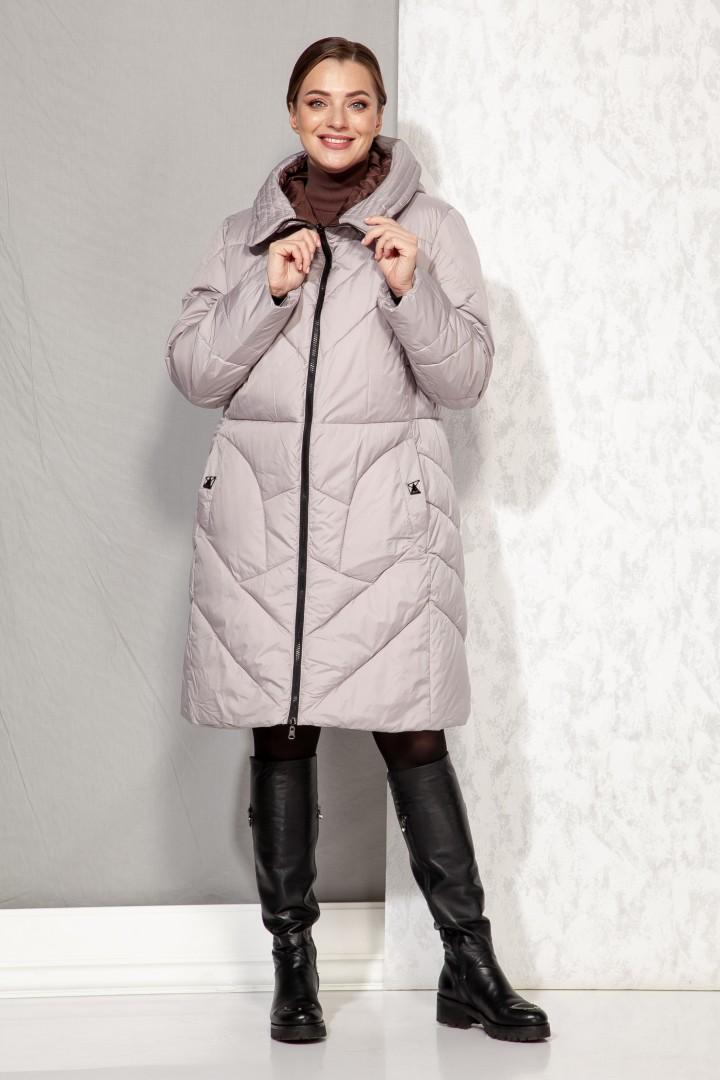 Пальто Beautiful&Free 4069 бежевый