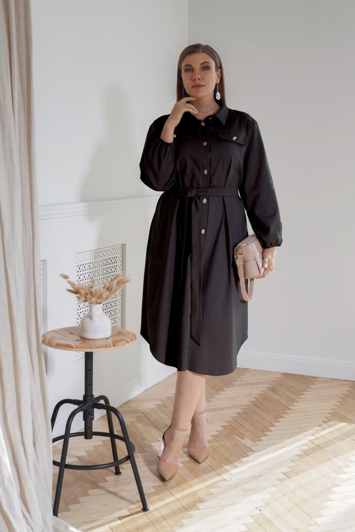 Платье BegiModa 1006 черный