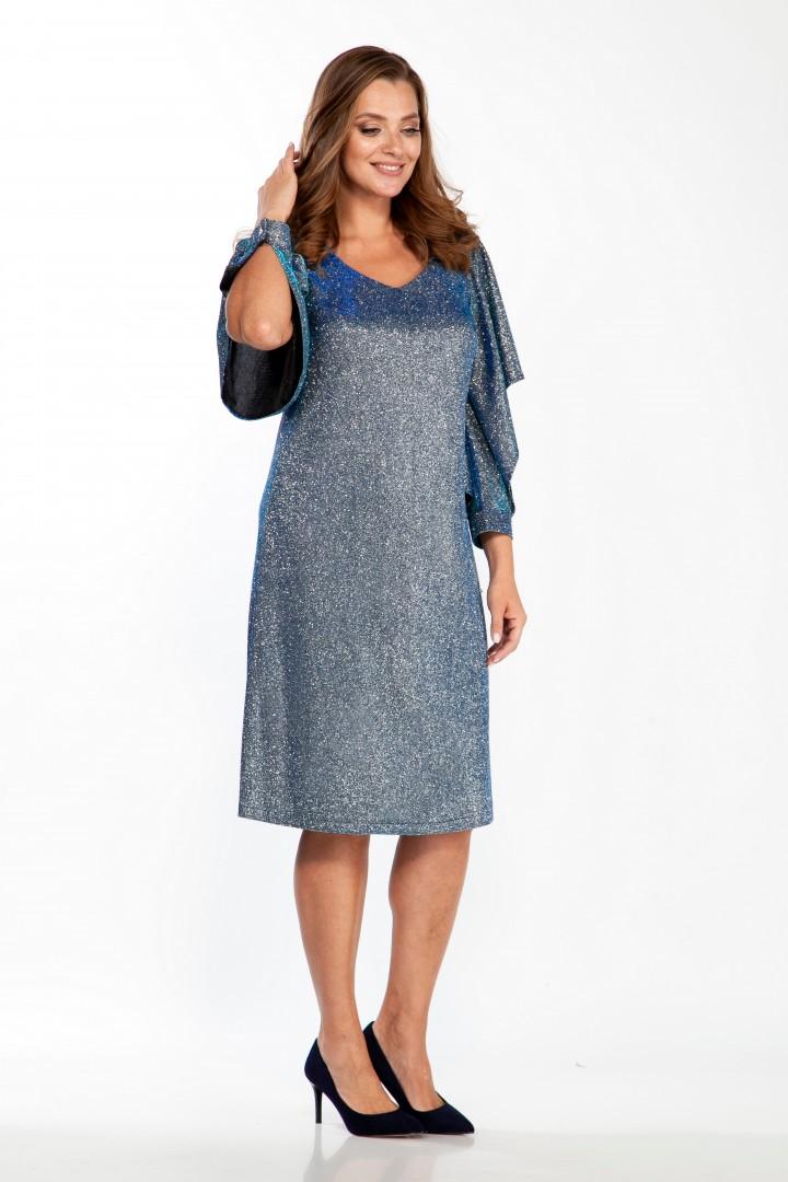 Платье Belinga 1096 голубой