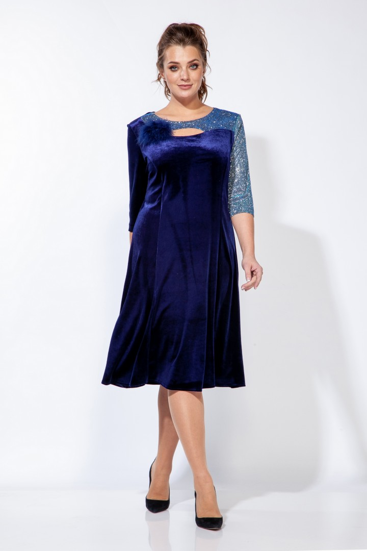 Платье Belinga 1159 синий