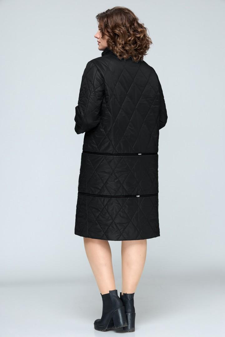 Пальто BonnaImage 609 чёрный