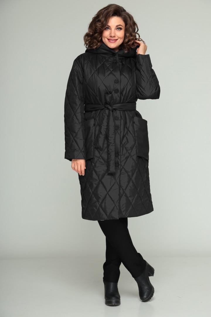 Пальто BonnaImage 658 черный