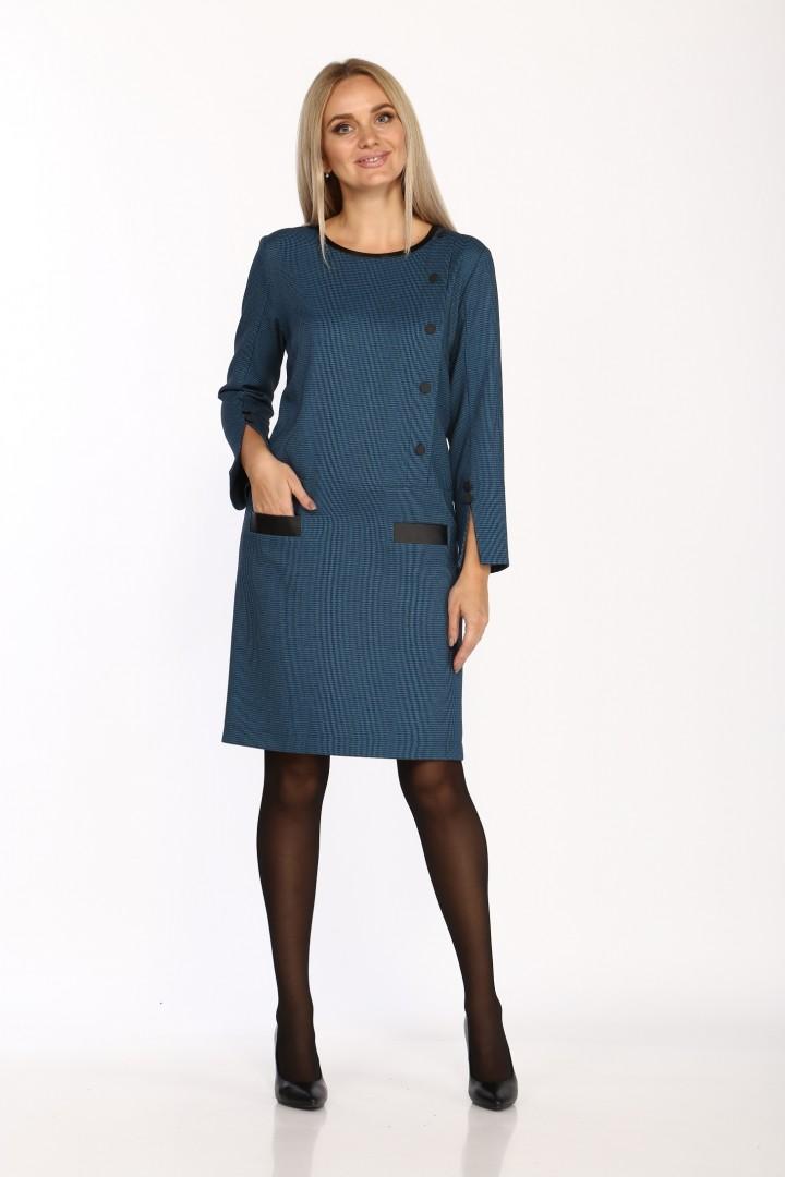Платье Данаида 2060 морская волна