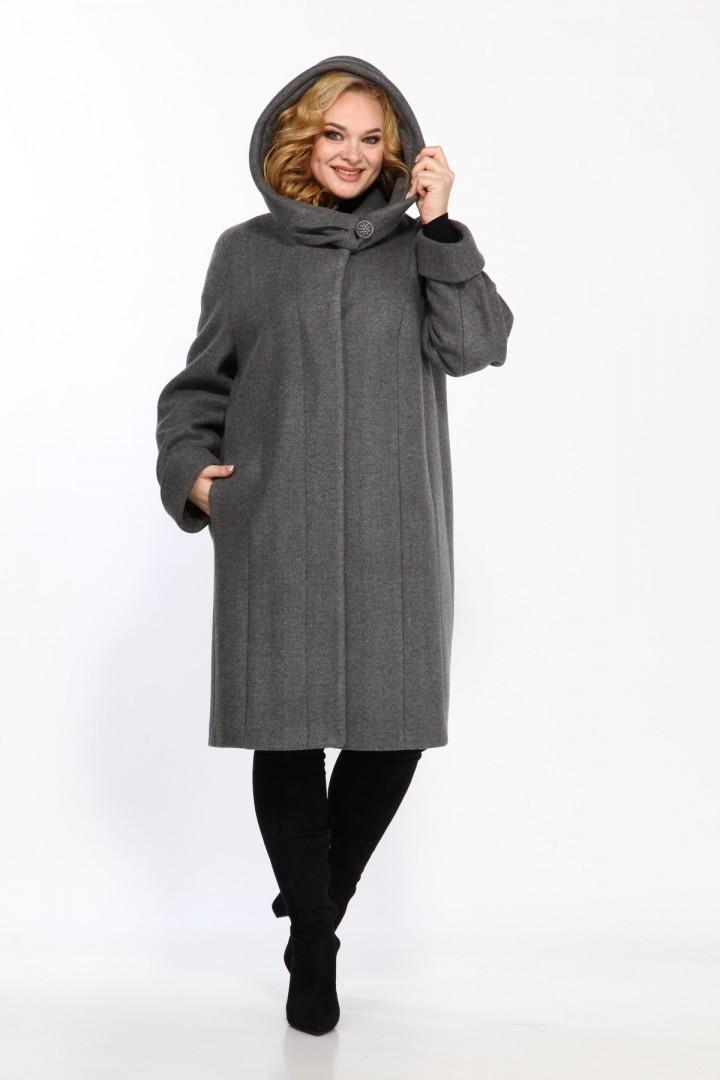 Пальто Diomant 1016 серый
