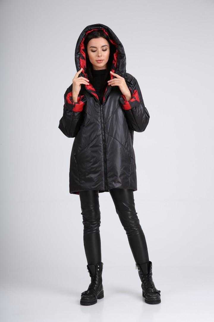 Куртка Diomant 1564 красно-черная