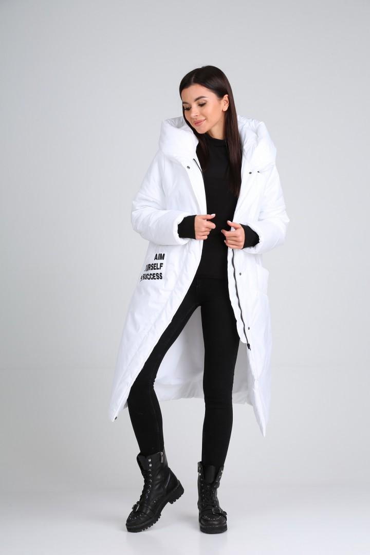Пальто Diomant 1602 белый