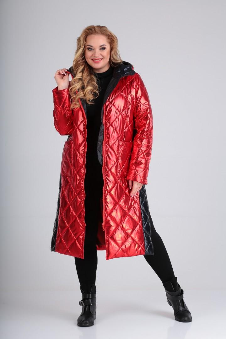 Пальто Diomant 1603 красный