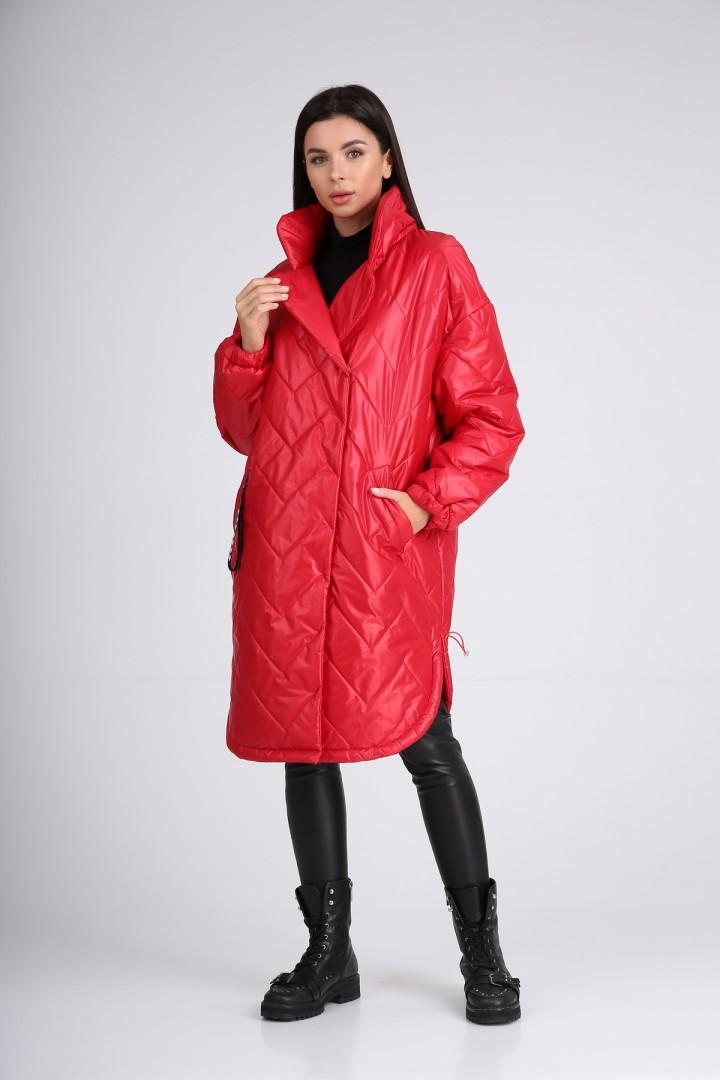 Пальто Diomant 1728 красный