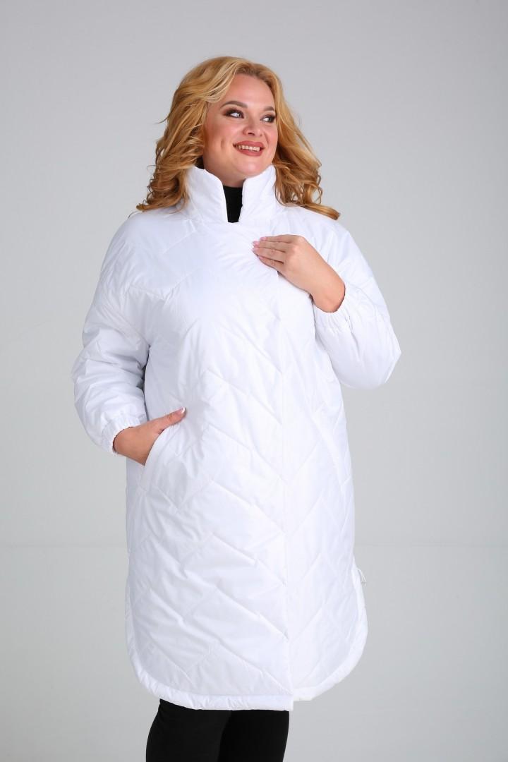 Пальто Diomant 1728 белый