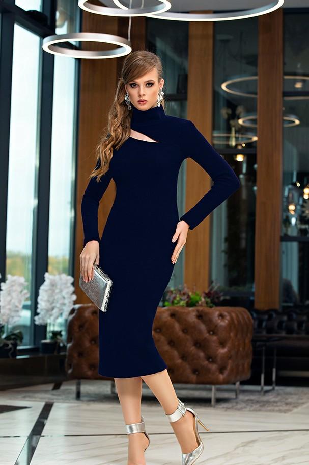 Платье Дива 1356-1 синий