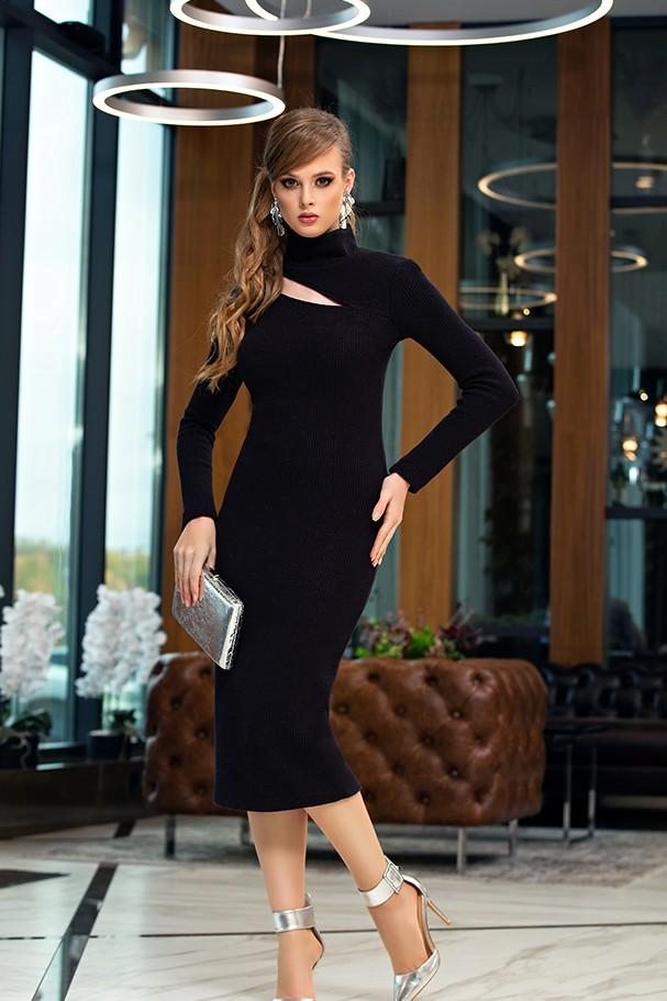 Платье Дива 1356 черный