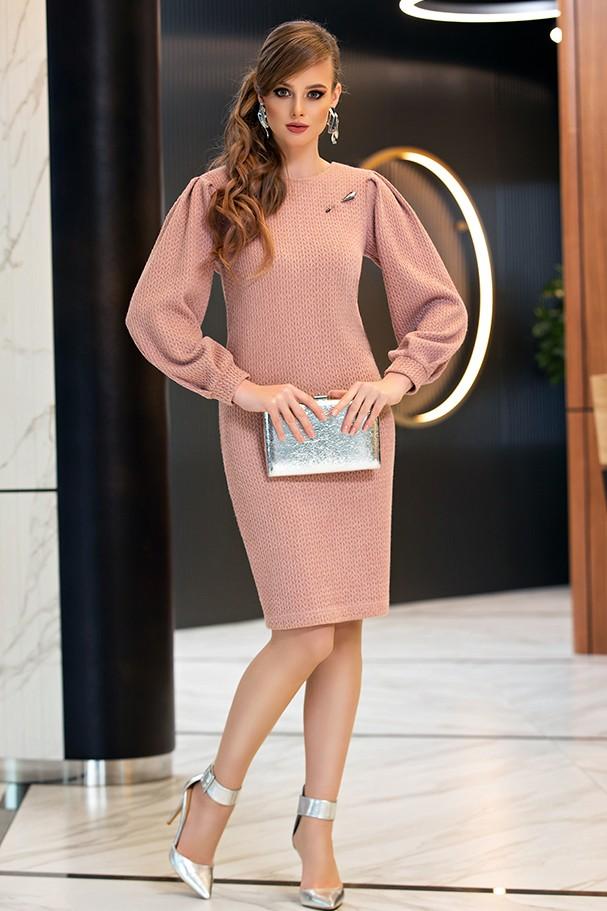 Платье Дива 1357-1 розовый