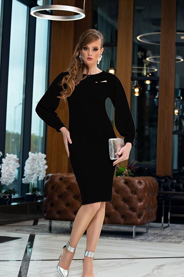 Платье Дива 1357-3 черный