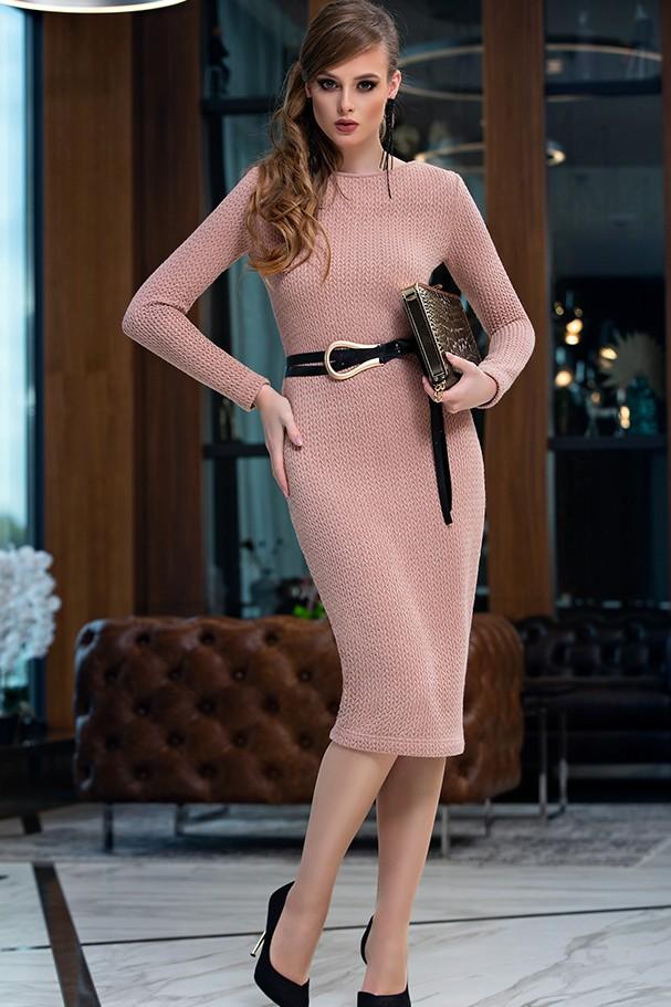 Платье Дива 1358-1 розовый
