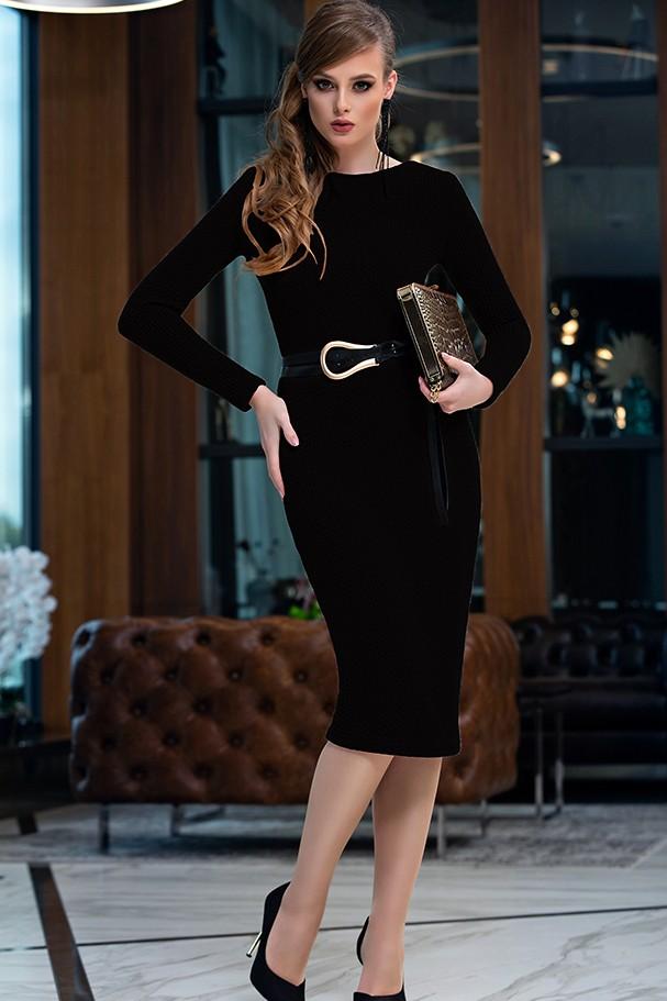 Платье Дива 1358-2 черный