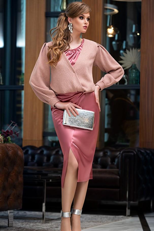 Юбка Дива 1361-1 розовый