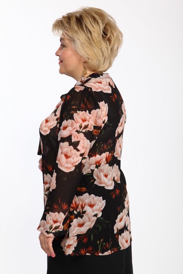 Блузка Djerza 043 цветы