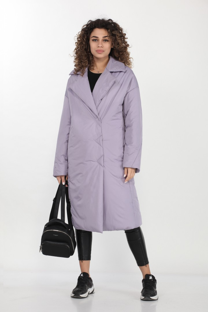 Пальто DOGGI 6300 лаванда