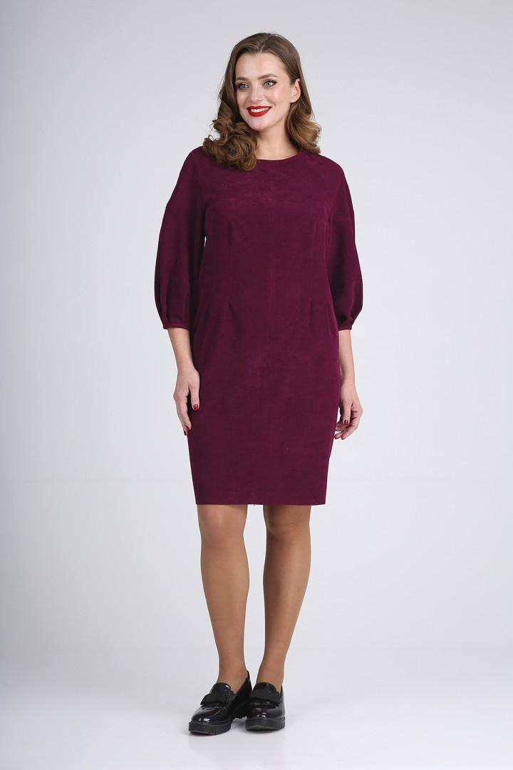 Платье Elga 01-720 бордо