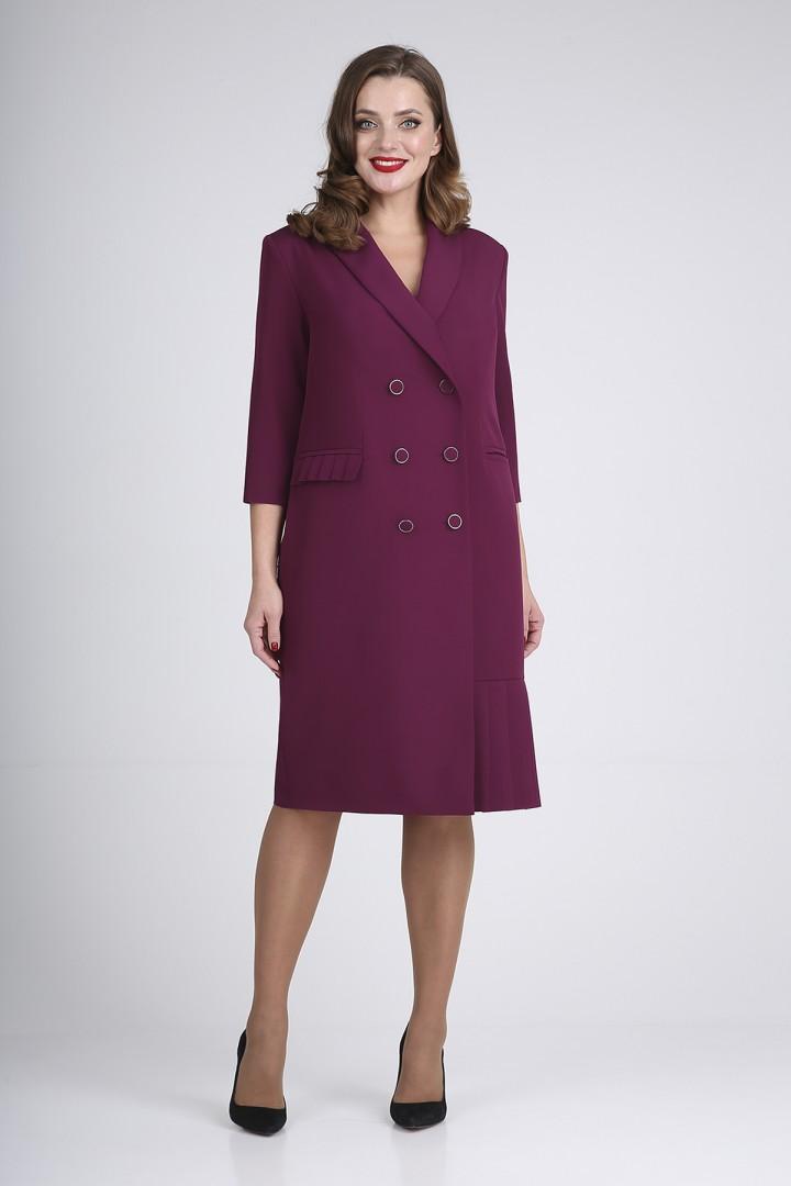 Платье Elga 01-721 слива